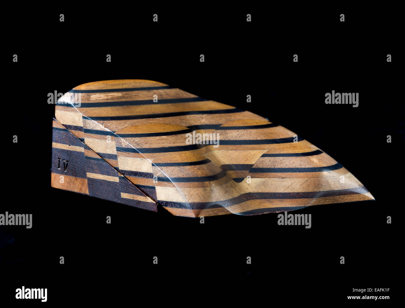 Sopwith Model IV: Surface indications of coal showing fallacious appearances - Stock Image