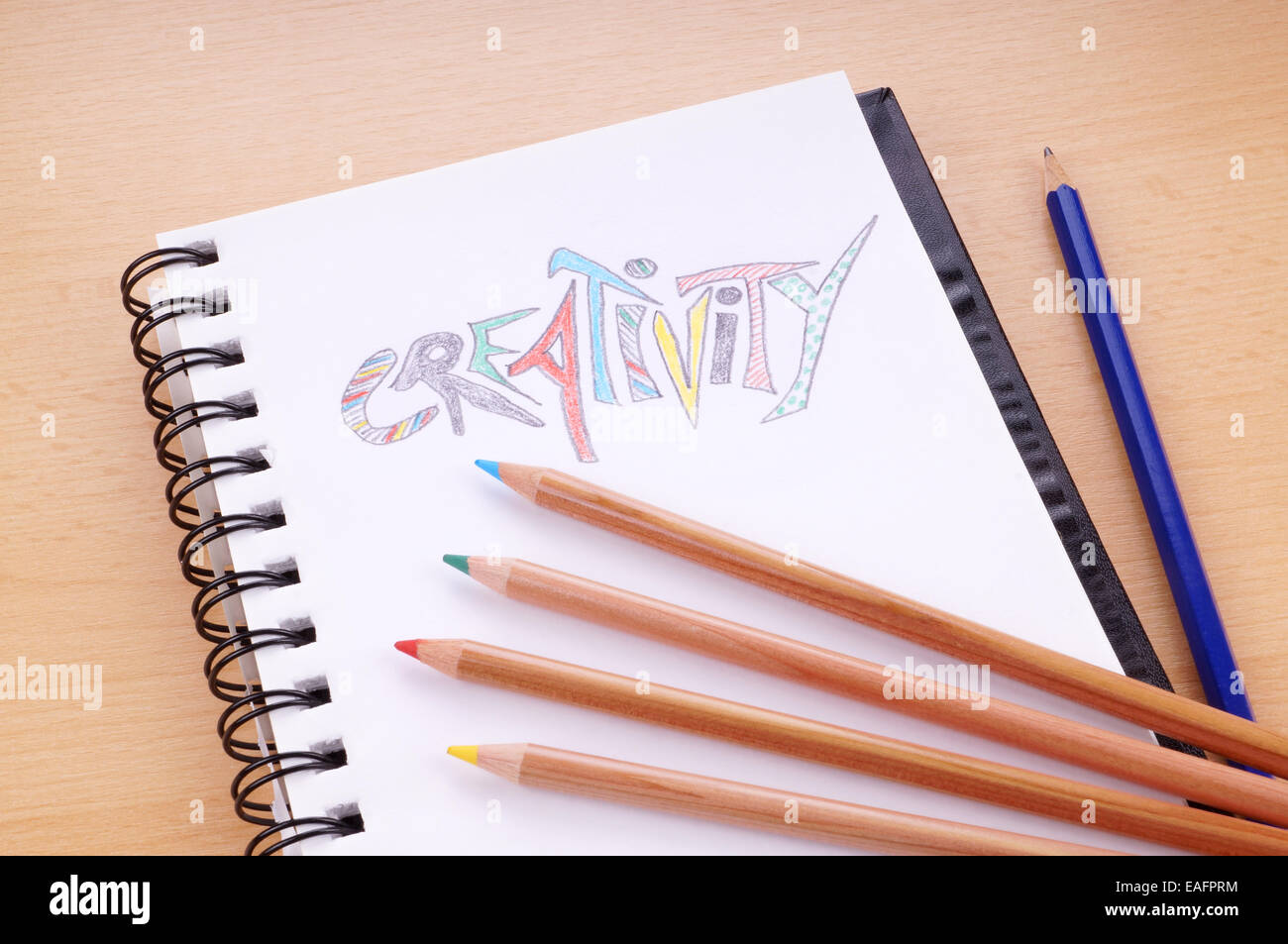 creativity concept - Stock Image