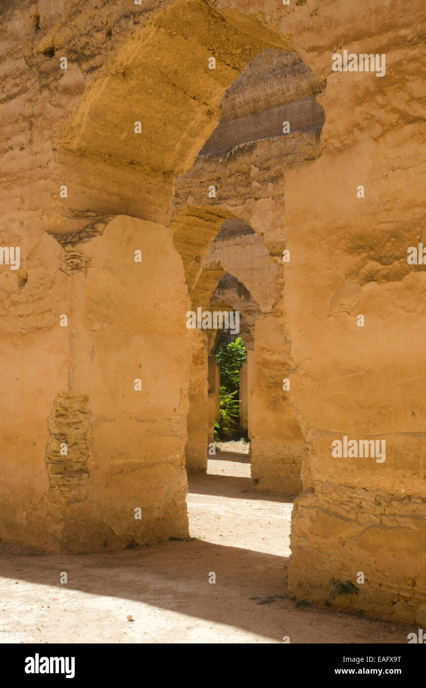 Heri es-Souani Meknes Morocco - Stock Image