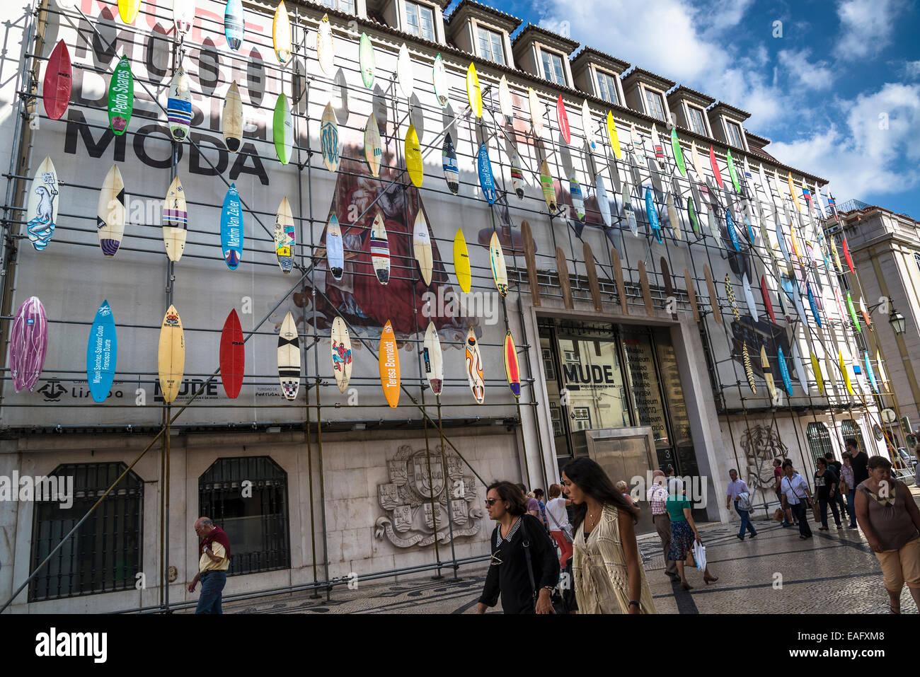 Design And Fashion Museum Mude Lisbon Portugal Stock Photo Alamy