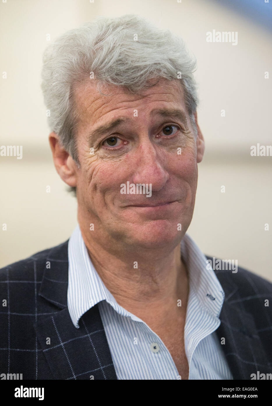 Broadcaster and Journalist Jeremy Paxman - Stock Image