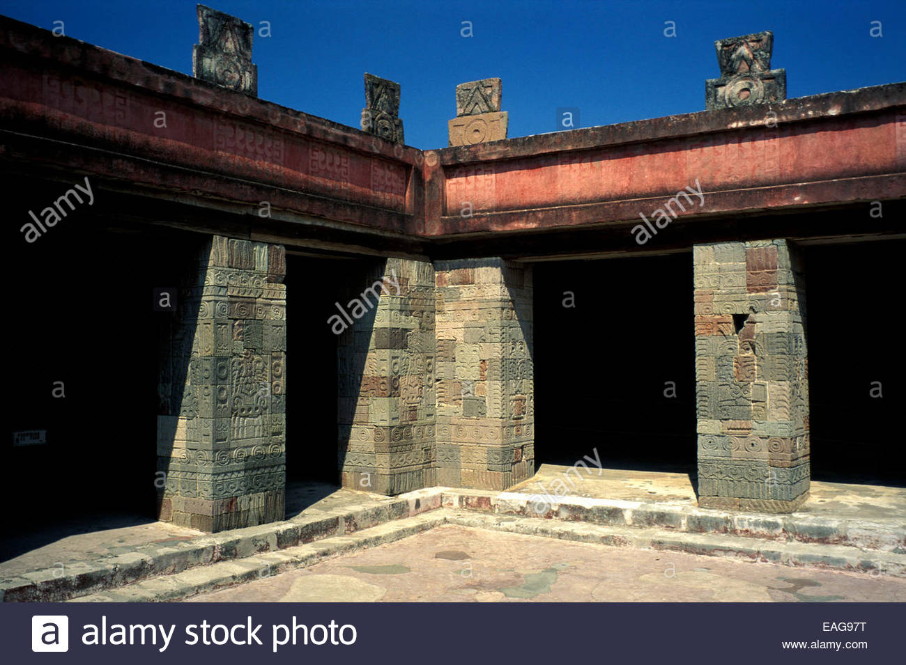 Mexico, archeological site of Teotihuacan - Stock Image