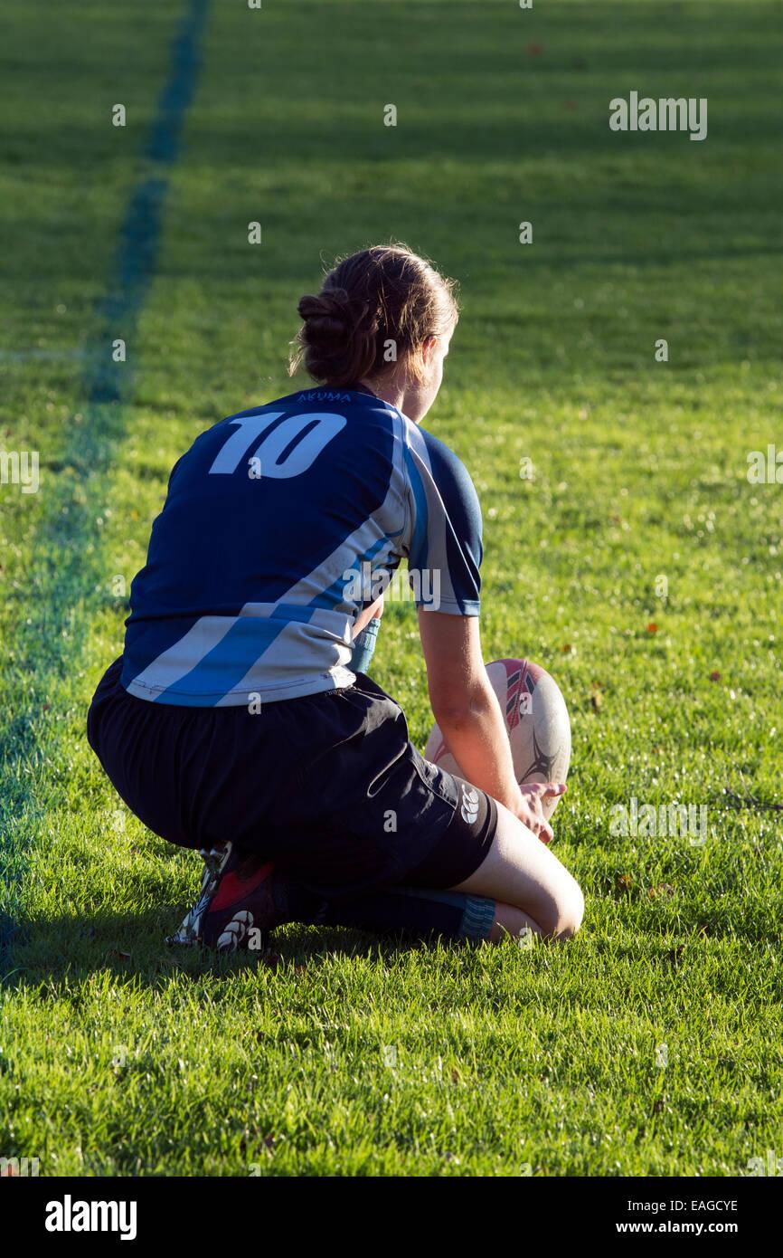 University sport UK, Women`s Rugby Union - Stock Image