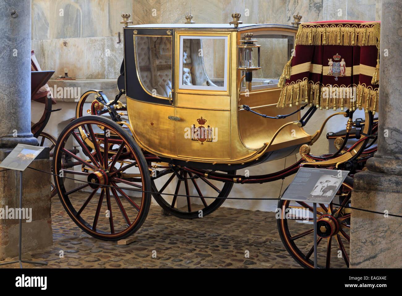 Royal Stables, Christianborg Palace, Copenhagen, Zealand, Denmark, Europe - Stock Image