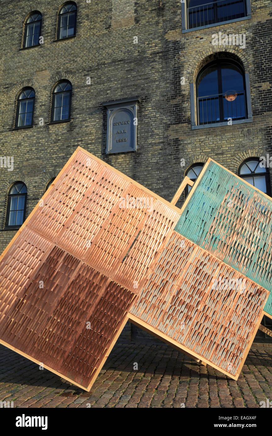 Danish Architecture Centre, Christianshavn District, Copenhagen, Zealand, Denmark, Europe - Stock Image