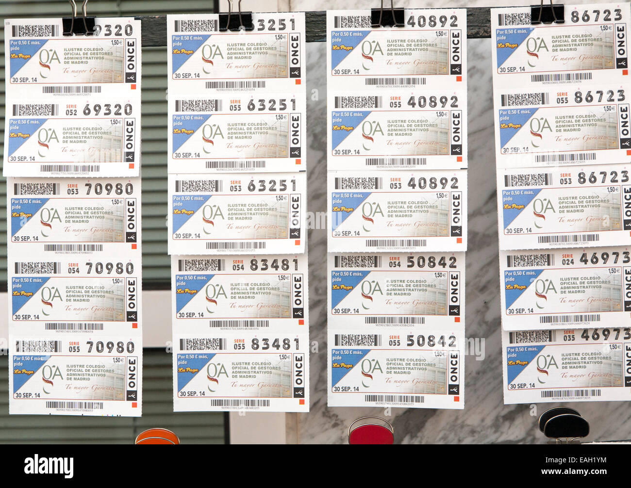 Lottery Tickets Stock Photos & Lottery Tickets Stock Images