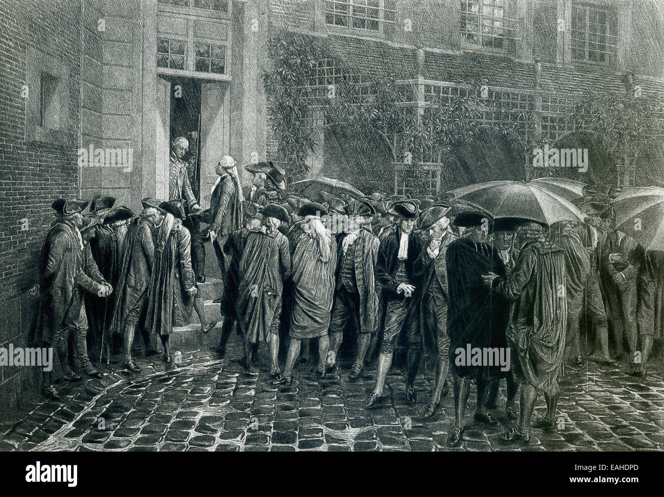 June 19, 1789, is considered the beginning of the French Revolution. At that time, the members of the Third Estate, - Stock Image
