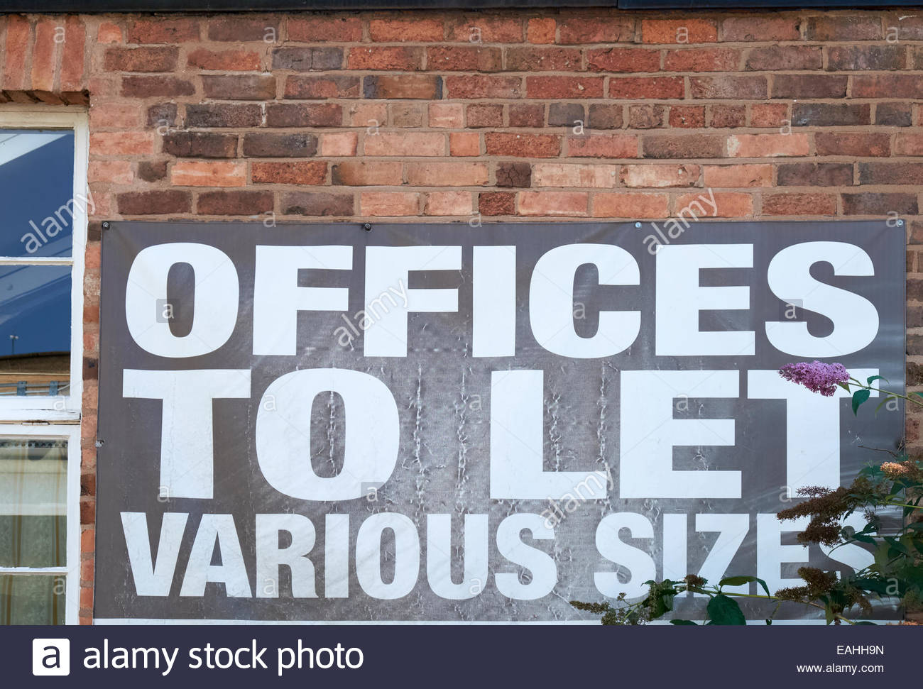 Offices to Let, Various Sizes Nottingham - Stock Image