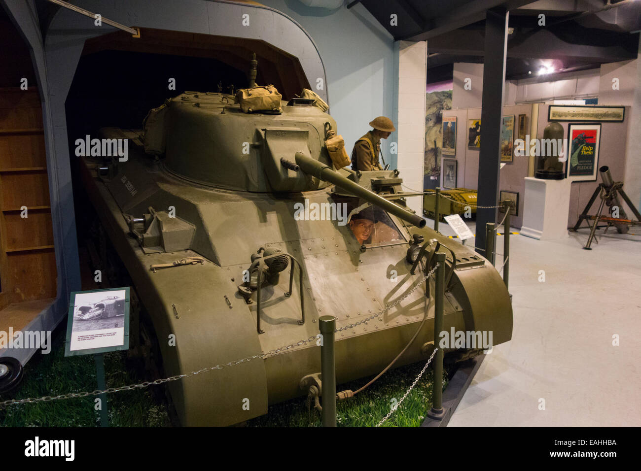 Military museum of Southern New England in Danbury CT - Stock Image