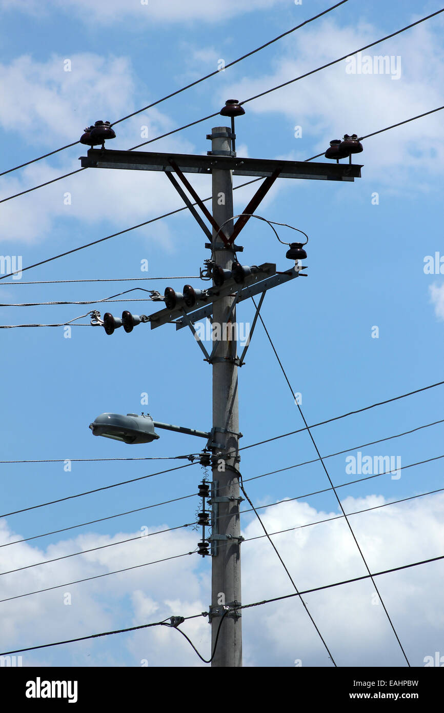 Pole Wire Stock Photos & Pole Wire Stock Images - Alamy