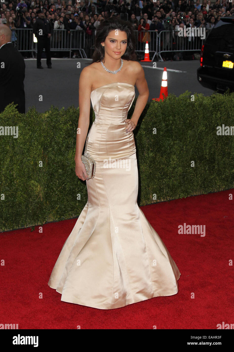 Charles James: Beyond Fashion Costume Institute Gala  Featuring: Kendall Jenner Where: New York, California, United - Stock Image