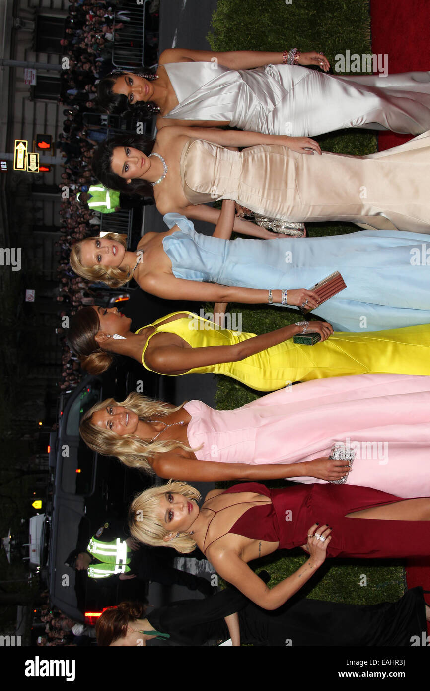 Charles James: Beyond Fashion Costume Institute Gala  Featuring: Zoe Kravitz,Kendall Jenner,Guests Where: New York, - Stock Image