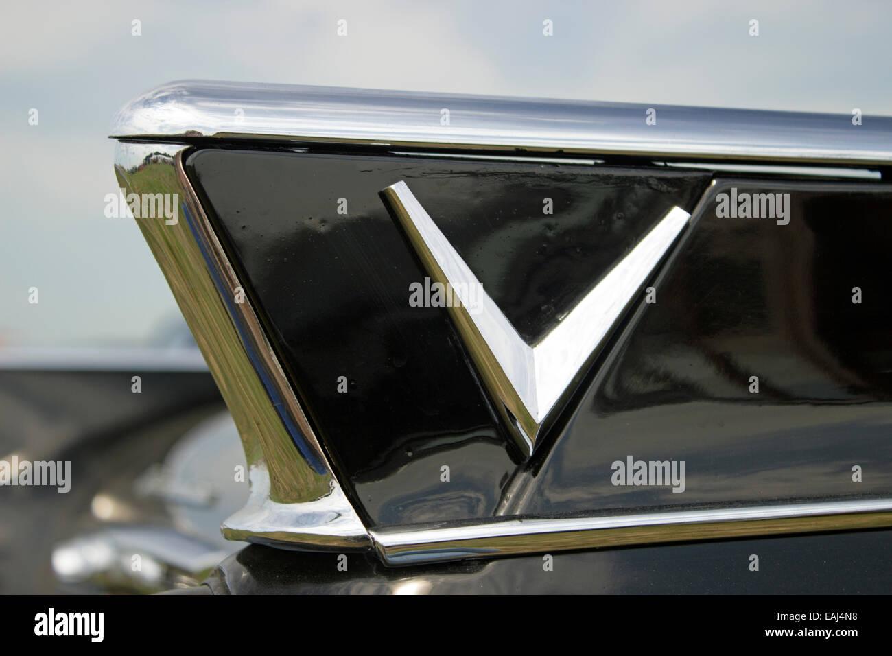 Vauxhall Cresta Rear Wing - Stock Image