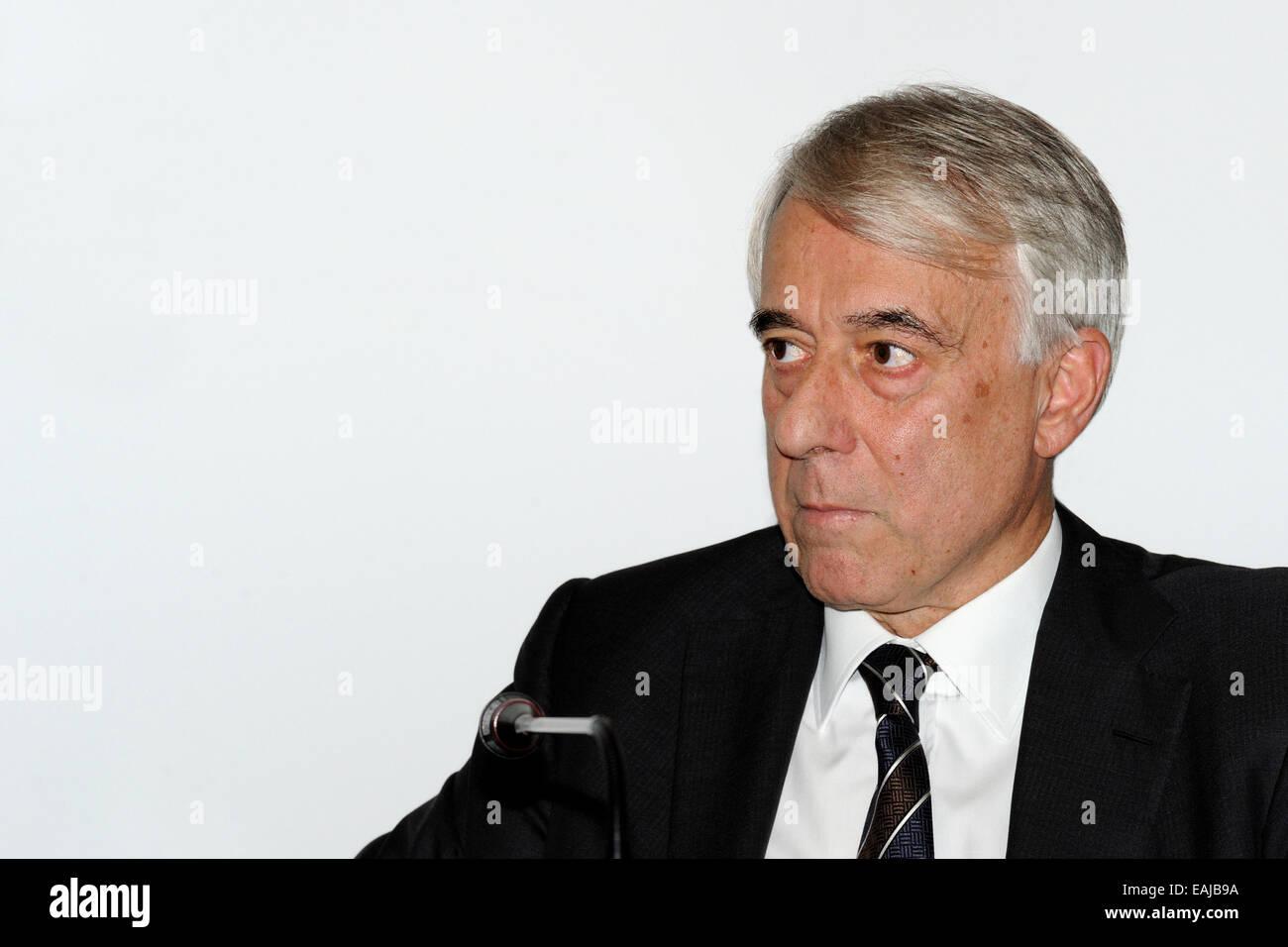 Giuliano Pisapia politician Milan (SEL). - Stock Image