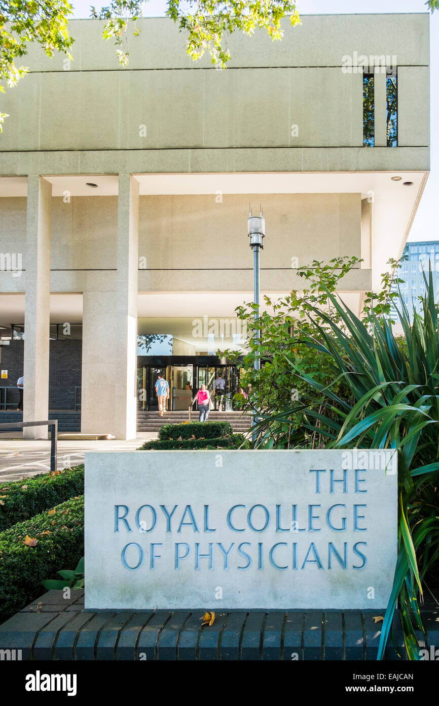 Royal College of Physicians - London - Stock Image