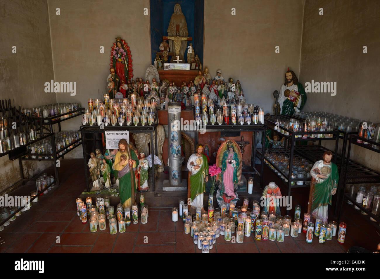 Mission San Xavier del Bac, Tucson AZ - Stock Image