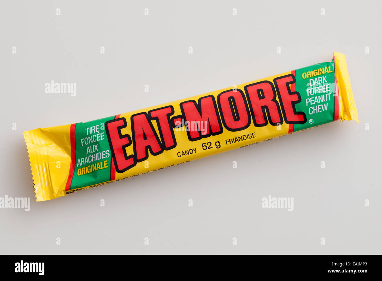An Eat-More candy bar, made by The Hershey Company. - Stock Image