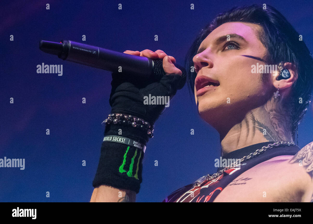 Andy Biersack Stock Photos Andy Biersack Stock Images Alamy