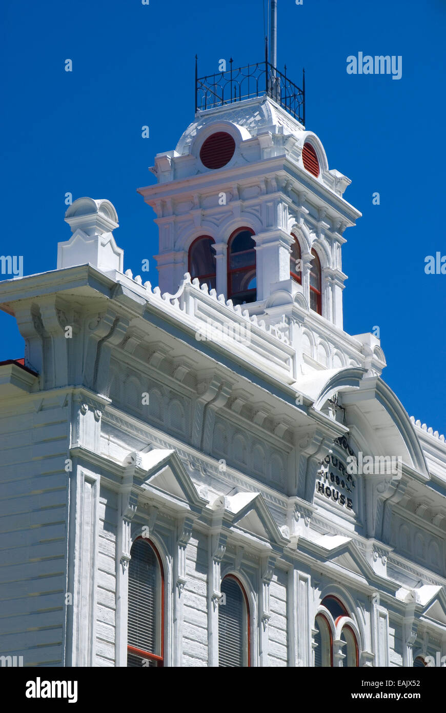 Mono County Courthouse, Bridgeport, Eastern Sierra Scenic Byway, California Stock Photo
