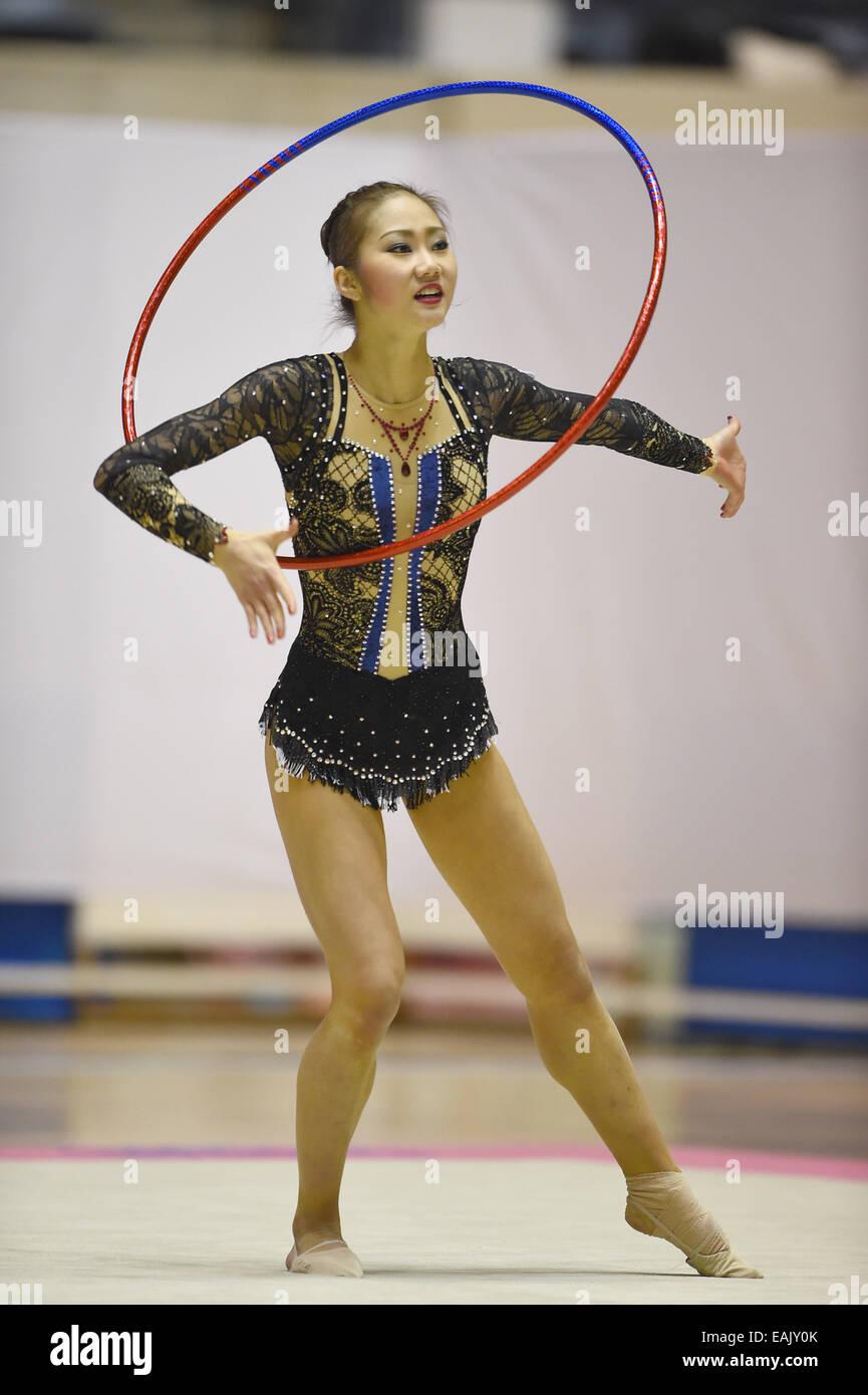 Japanese wrinkle gymnastics