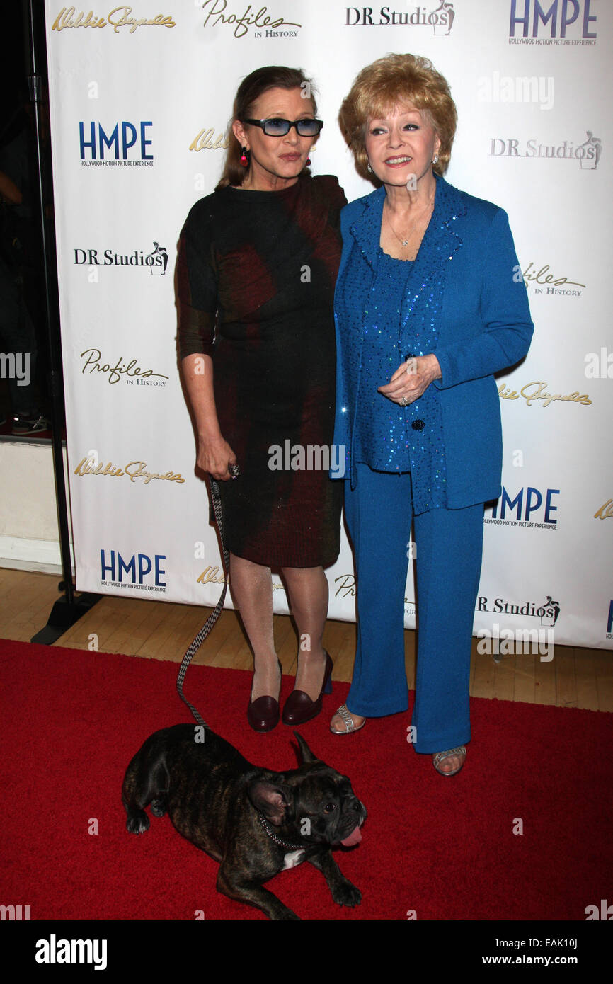 Debbie Reynolds—The Auction Finale VIP Reception; Auction conducted by www.ProfilesInHistory.com on May 17 & - Stock Image