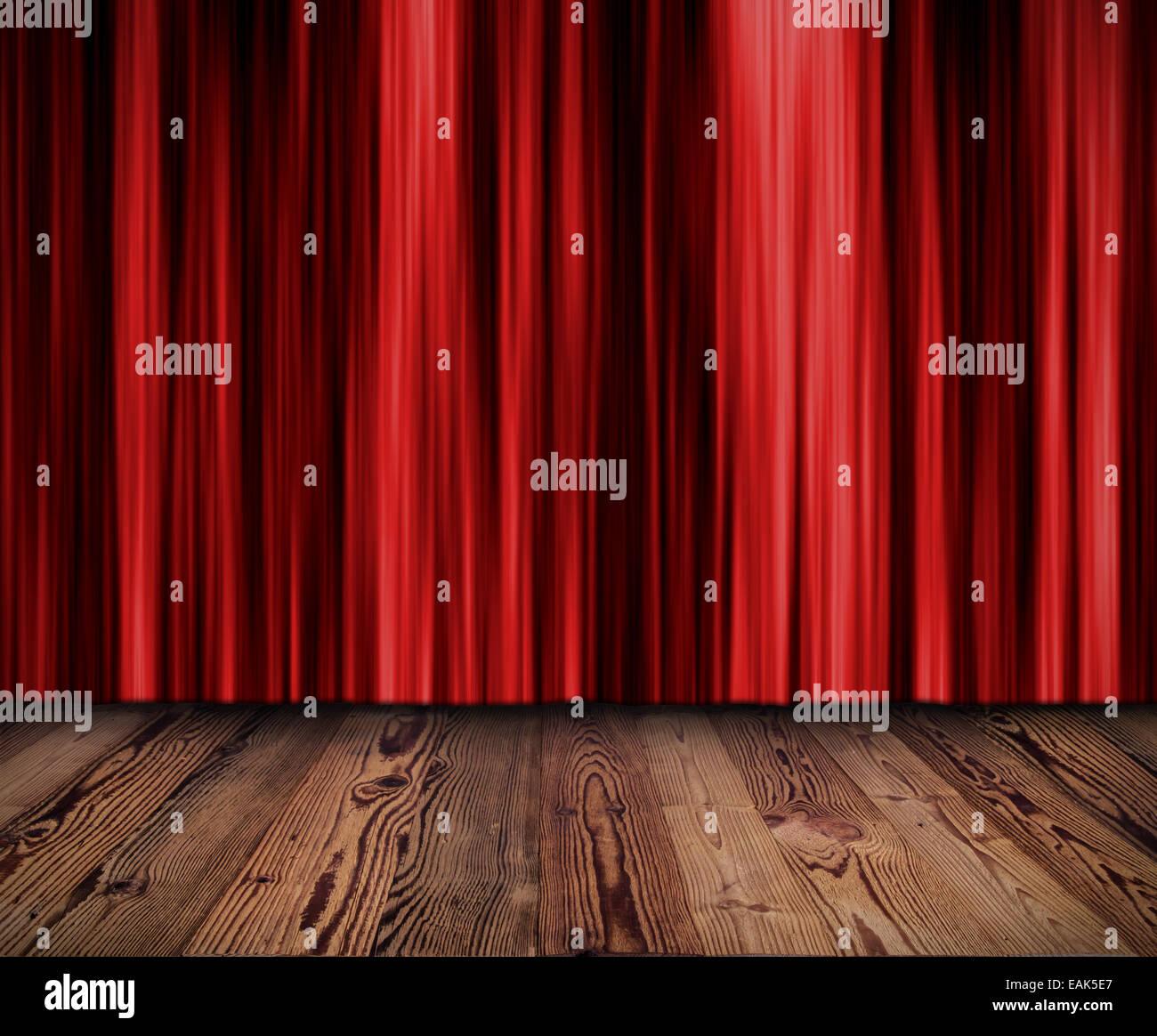 red curtain cinema
