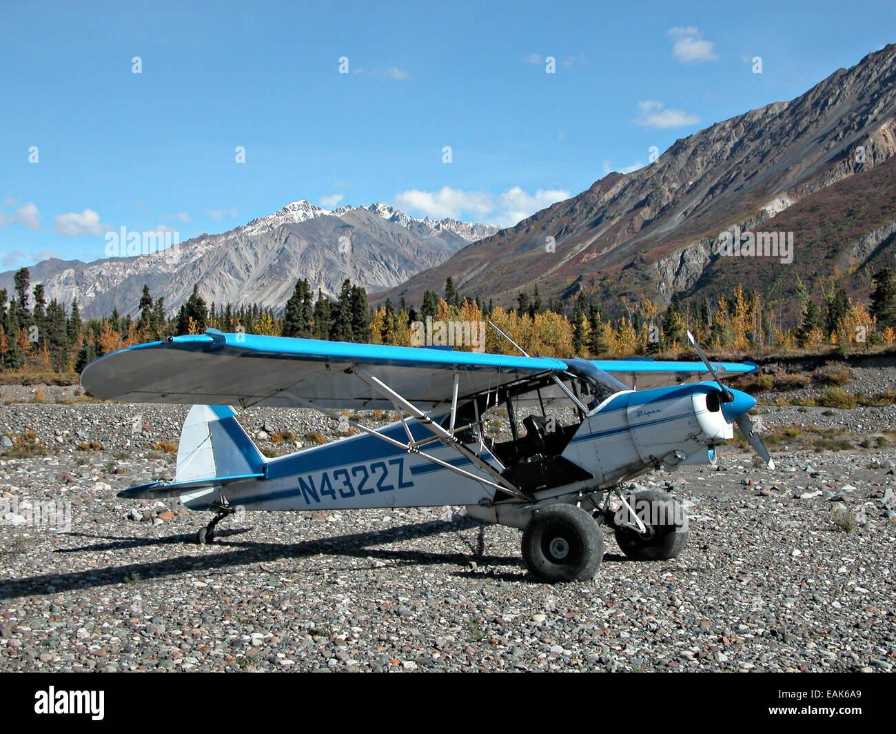 Super Cub Piper Bush Airplane Stock Photos & Super Cub Piper