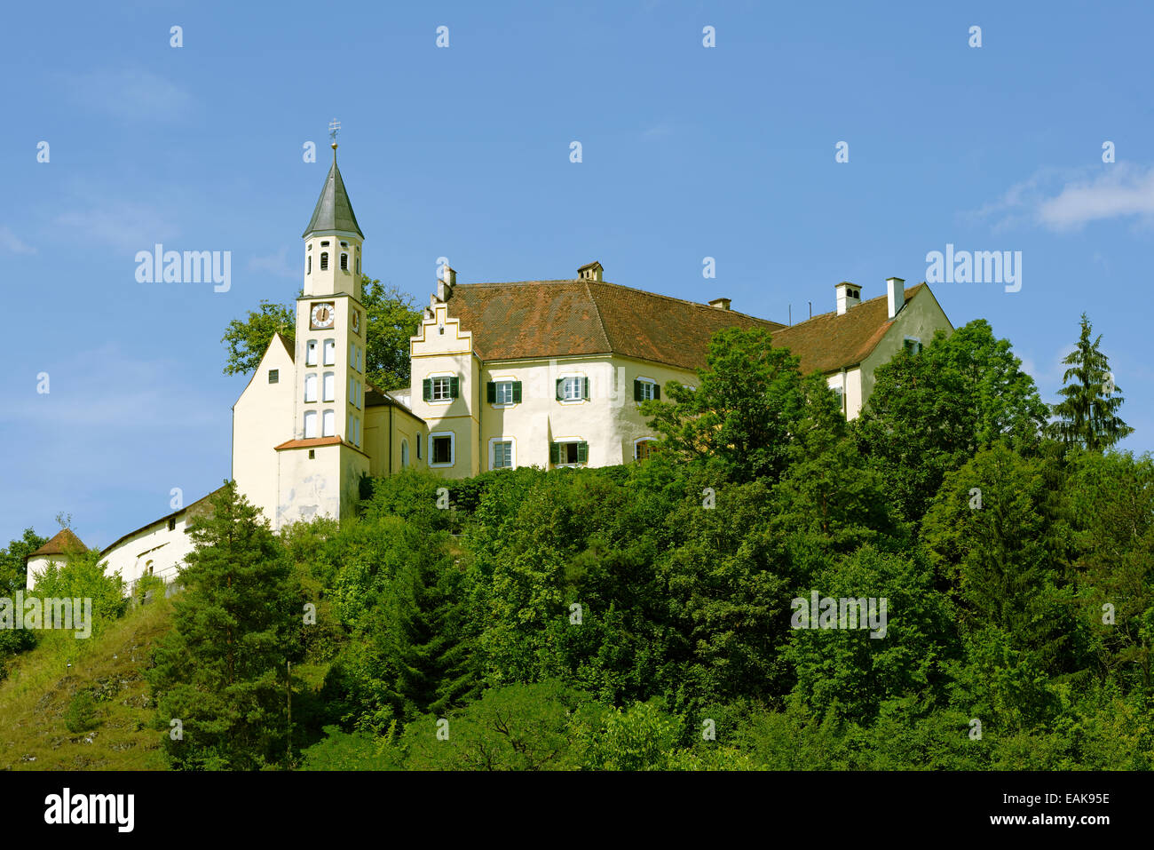 Weihnachtsmarkt Hexenagger.Schloss Hexenagger Castle Altmannstein Upper Bavaria Bavaria