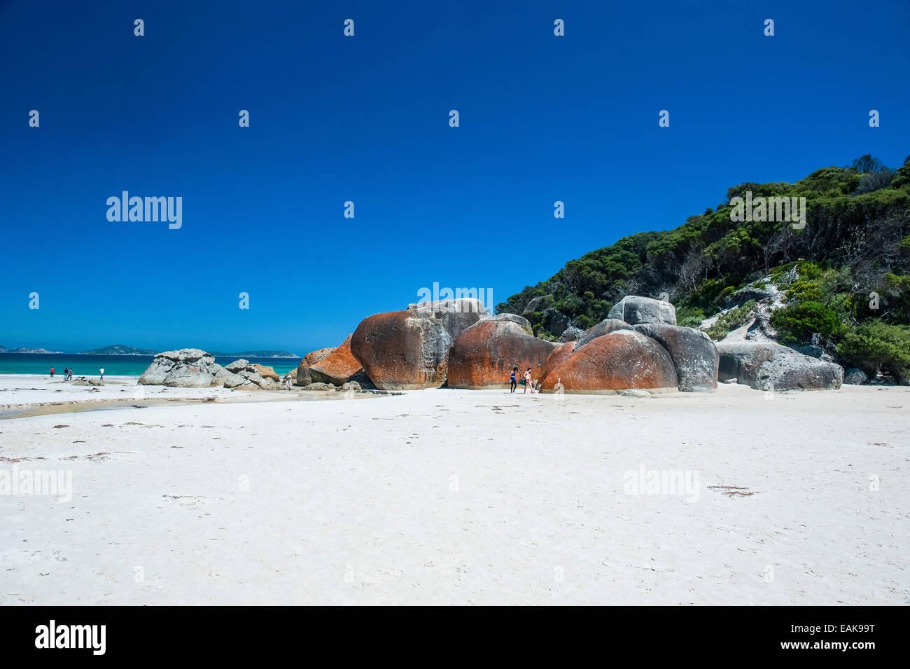 Norman Beach, Wilsons Promontory National Park, Victoria, Australia - Stock Image