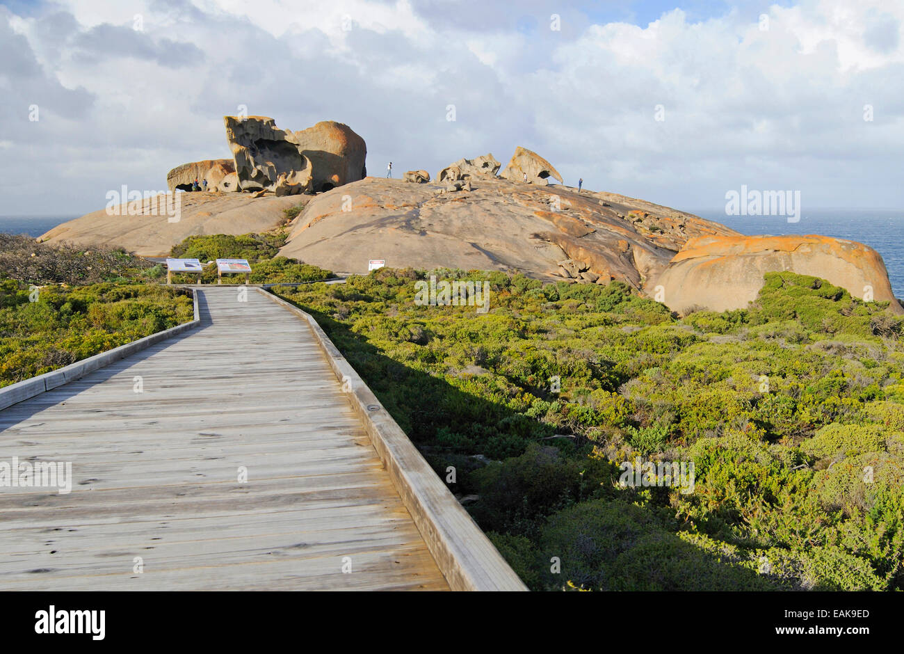 Remarkable Rocks, Flinders-Chase-Nationalpark, Kangaroo Island, South Australia, Australia - Stock Image