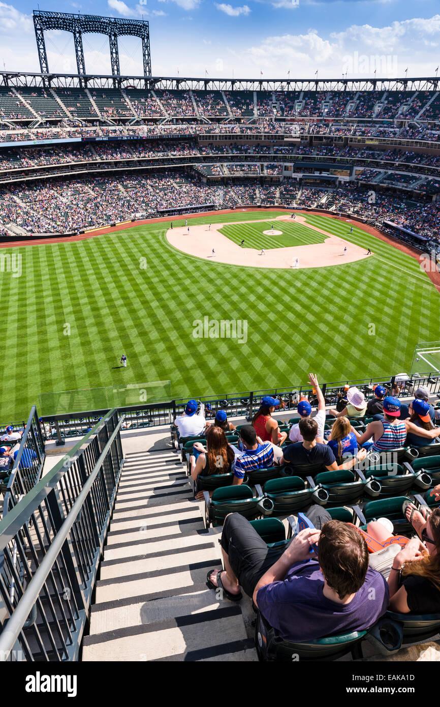 Citi Field - New York Mets Stadium - Stock Image