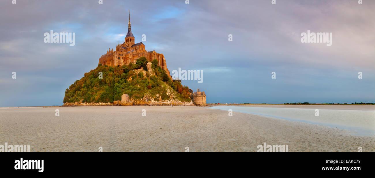 Mont Saint-Michel, Le Mont-Saint-Michel, Normandie, France - Stock Image