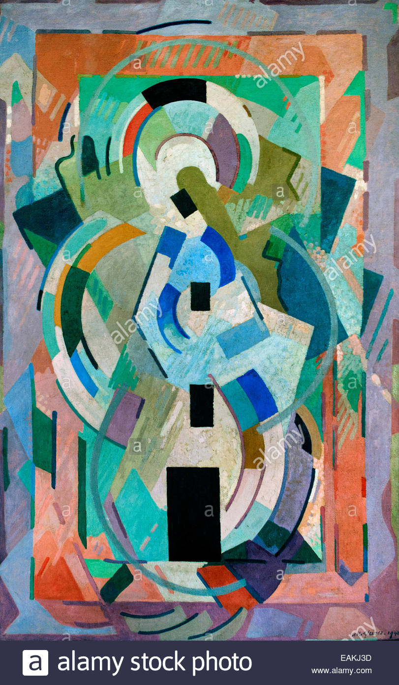 For contemplation 1942 Albert Gleizes 1881 - 1953 France French - Stock Image
