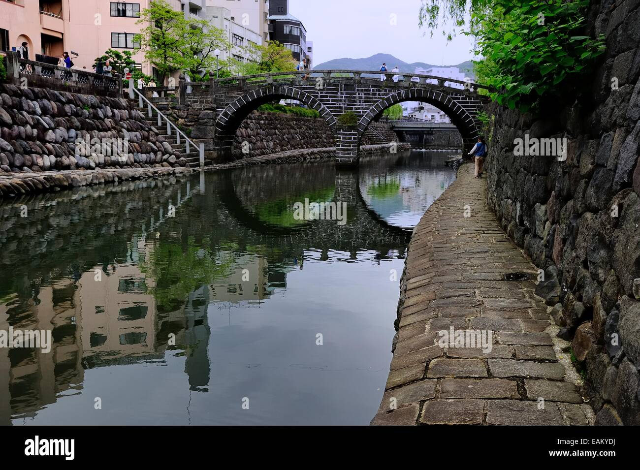 Spectacle Bridge, Nagasaki - Stock Image