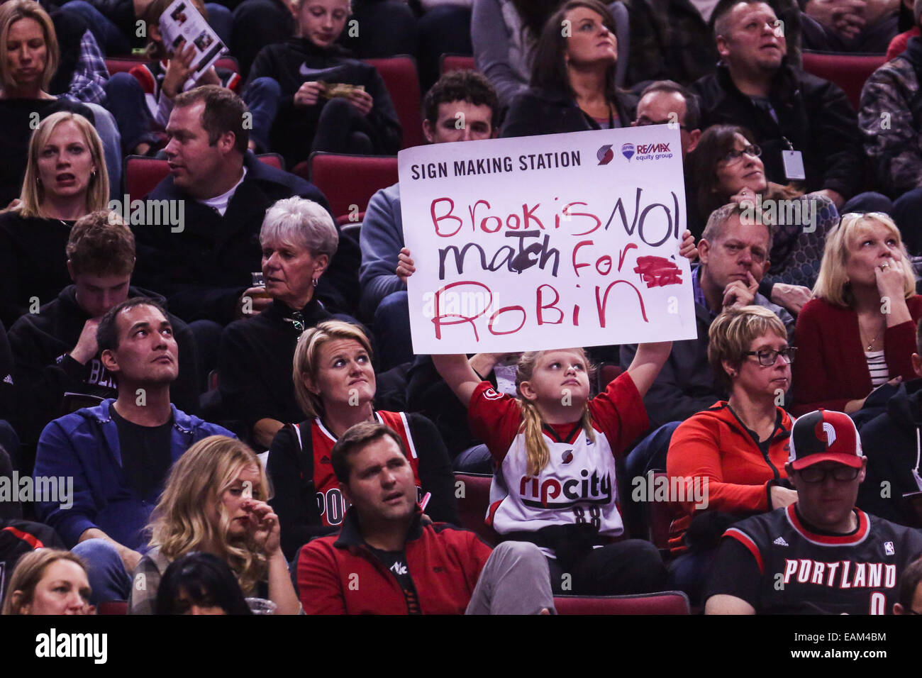 83edfc70239 The Portland Trail Blazers play the Brooklyn Nets at the Moda Center on  November 15,