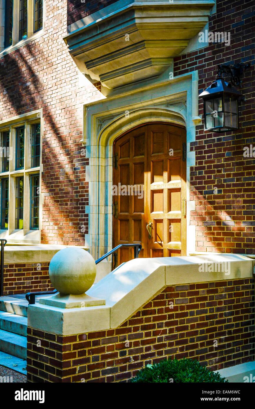 The historical Alumni Hall building at Vanderbilt University in Nashville, TN - Stock Image