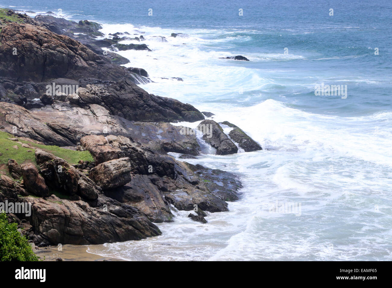 Vizhinjam, Thiruvananthapuram, Kerala, Indian - Stock Image
