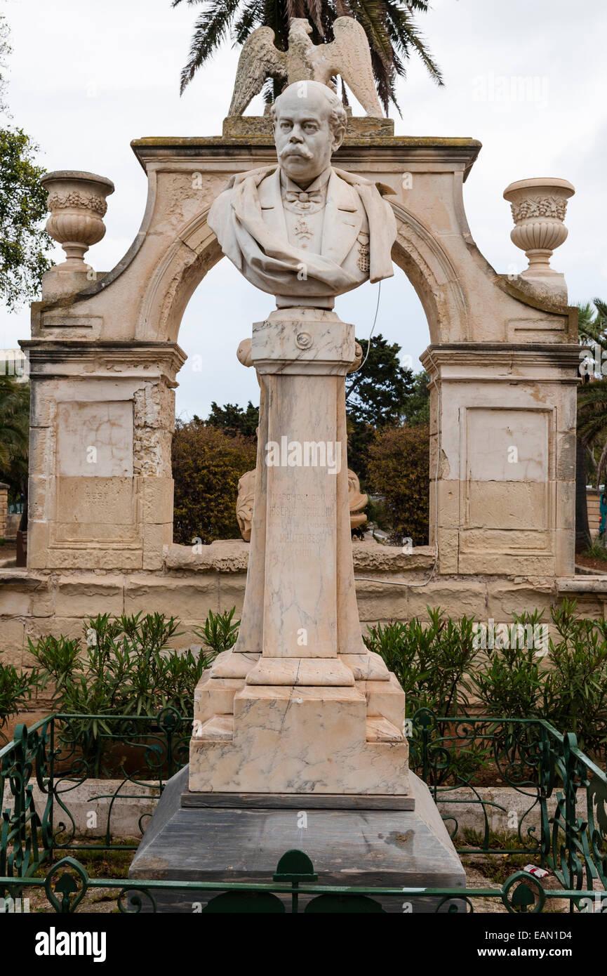 Floriana, Valletta, Malta. Maglio Gardens (the Mall Gardens) - Stock Image