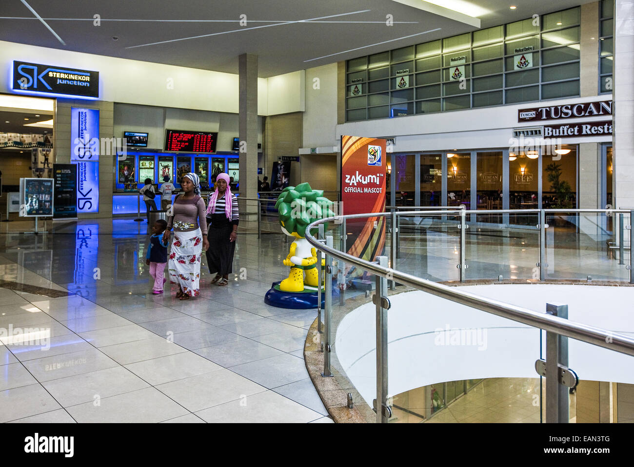 South Africa, Soweto, the new Maponya shopping center - Stock Image