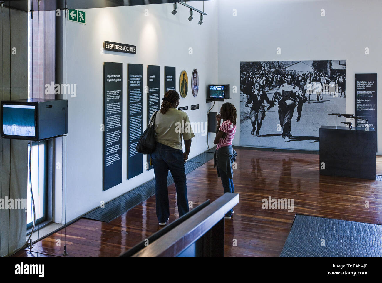 South Africa, Soweto, the Hector Pieterson memorial - Stock Image