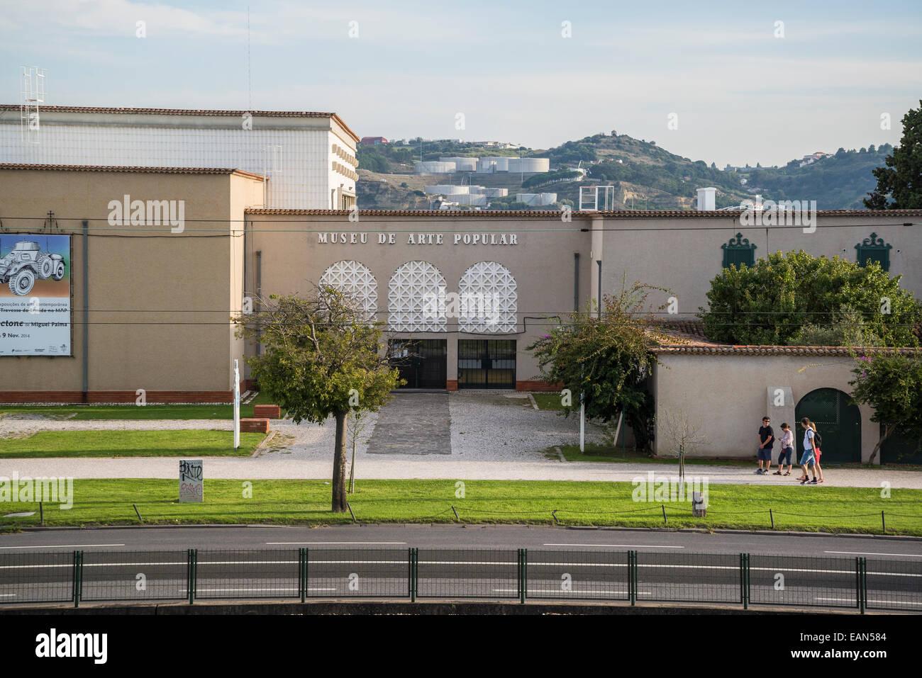 Folk Art Museum, Museu de Arte Popular, Belem district, Lisbon, Portugal - Stock Image
