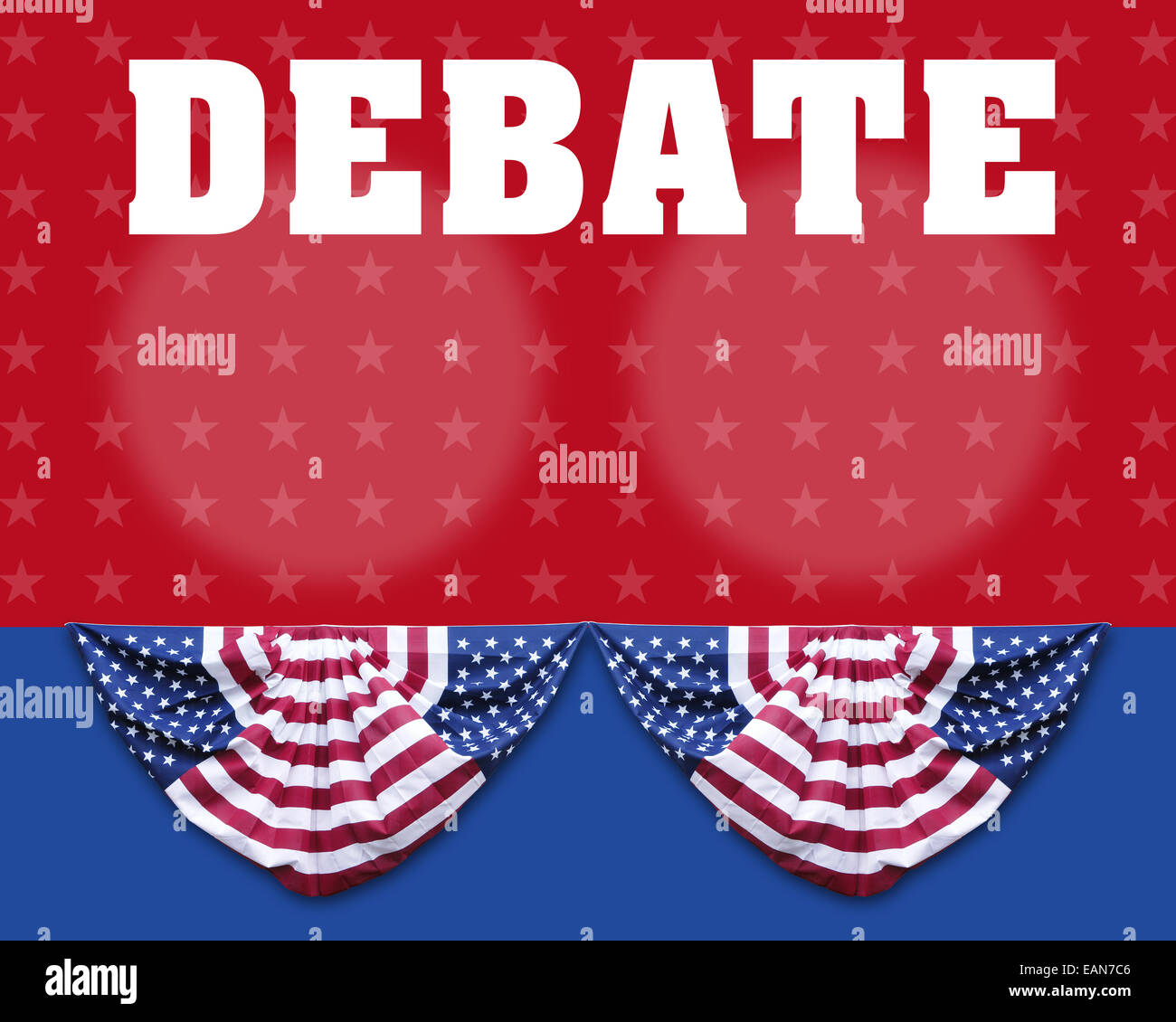 election debate poster red white and blue election campaign poster