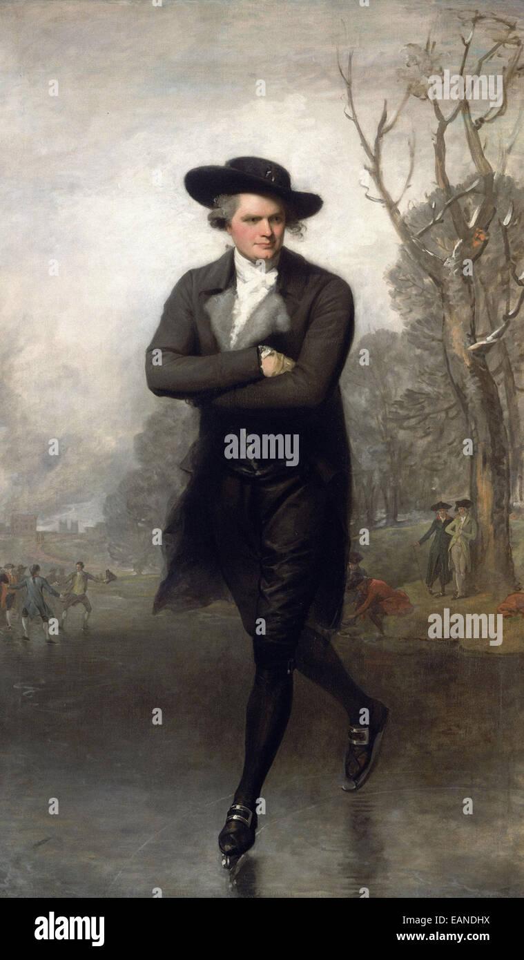 Gilbert Stuart  The Skater - Stock Image