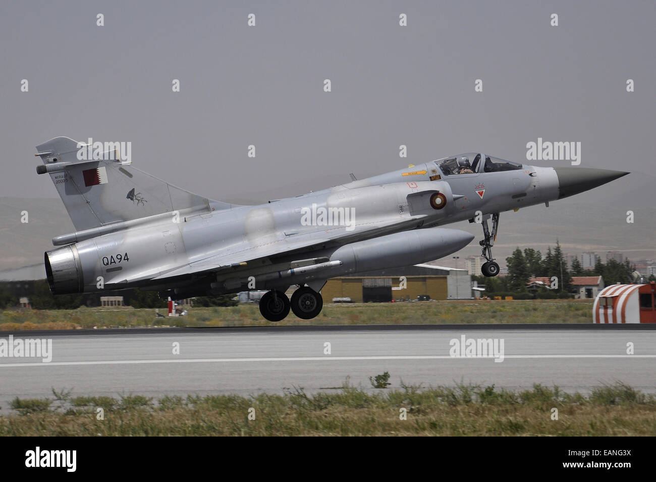 A Dassault Mirage 2000-5EDA of the Qatar Emiri Air Force