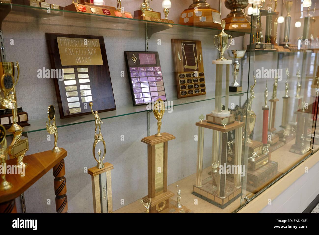 High School Trophy Cabinet Canada