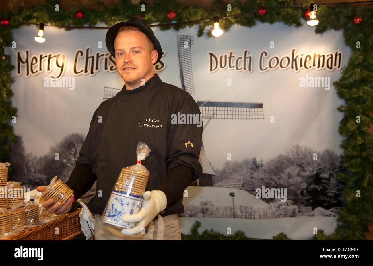 Johnny Heinen, at Dutch Cookieman Traditional festive foreign foods ...