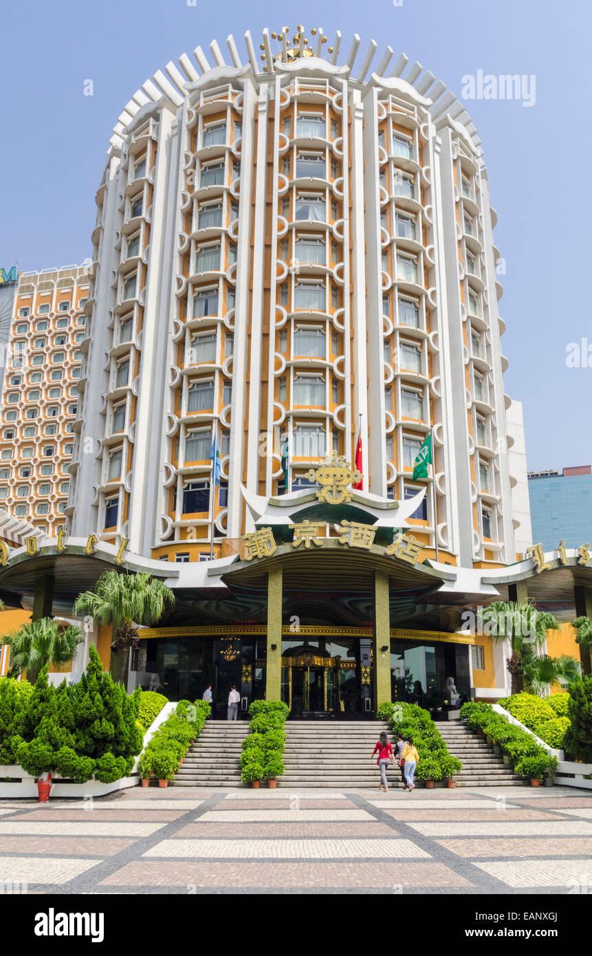Hotel Lisboa, Macau, China - Stock Image