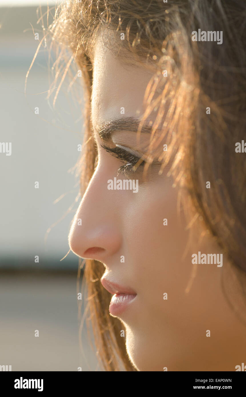 Girls lebanese up of Close faces beautiful