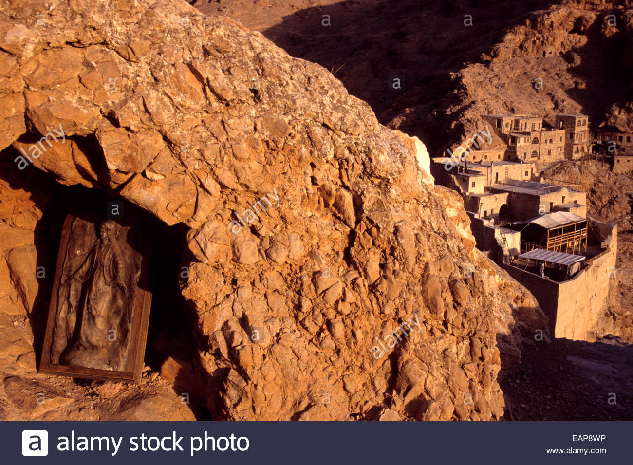The Mar Mousa  monastery, Syria. - Stock Image
