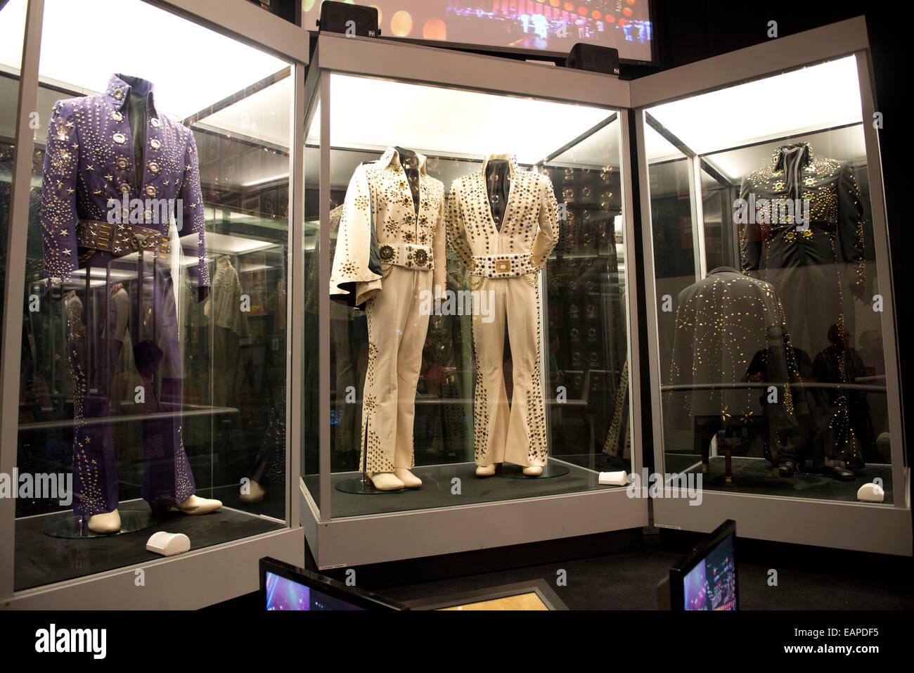 Graceland, Memphis Tennessee - Stock Image